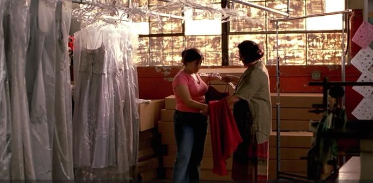 estela-gives-ana-dress
